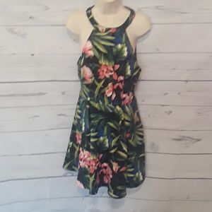 [ ABERCROMBIE & FITCH ] HAWAIIAN STYLE DRESS M